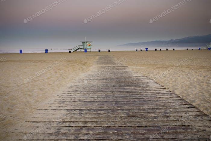 Path on Beach