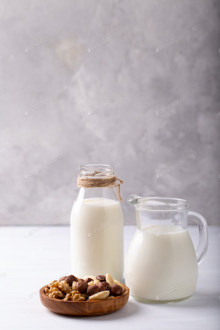 Milk from nuts