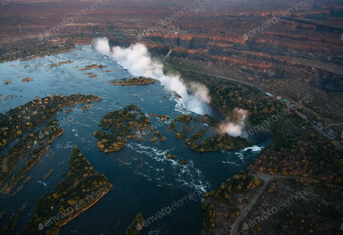 Thumbnail for Victoria Falls from the Air