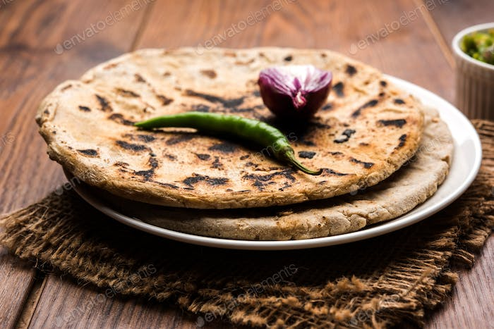 Bhakri or Indian Flat Bread