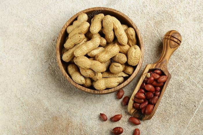 Natürliche Bio-Erdnüsse