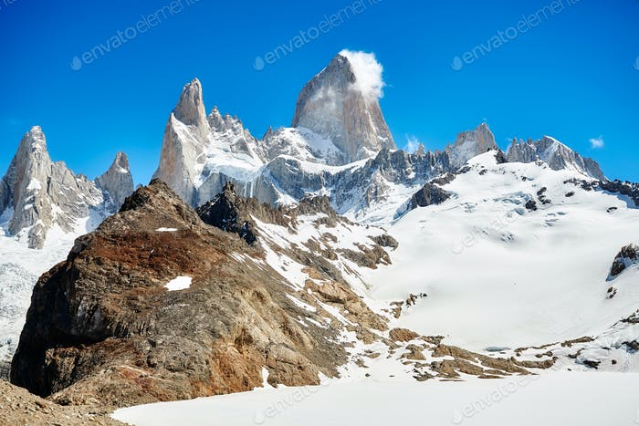 Fitz Roy Mountain Range, Argentina.