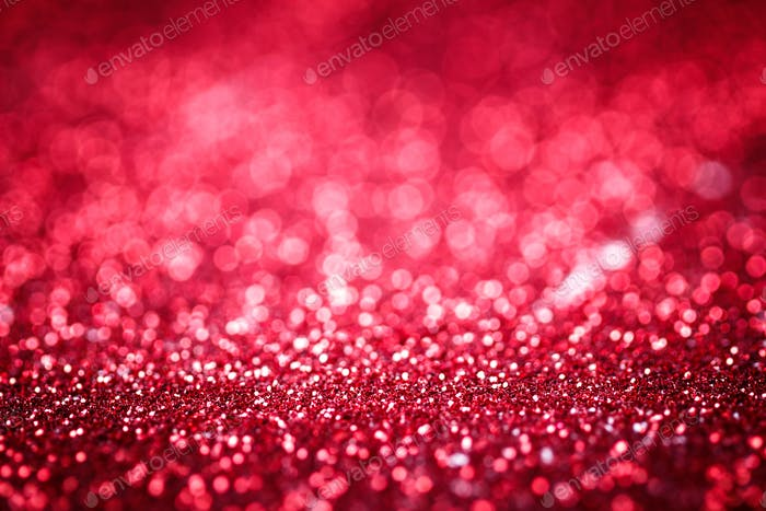 Red glitter texture