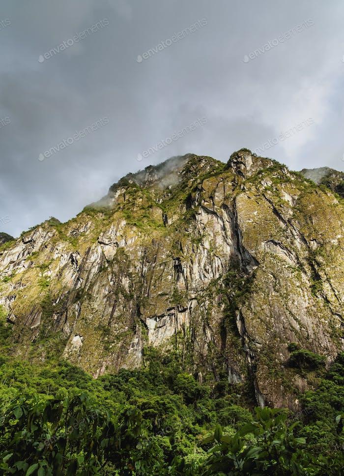 Rock near Machu Picchu