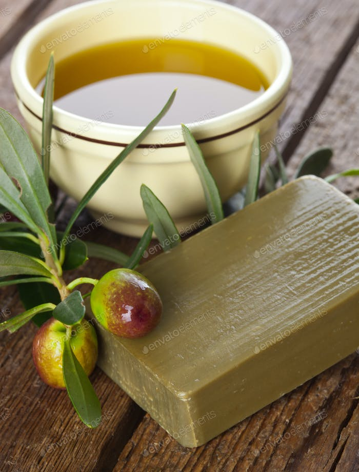 Aleppo soap and Olives