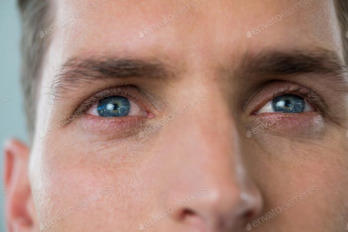 Eyes of a man