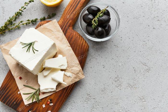 Greek cuisine concept