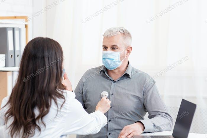 Diagnostik, ärztliche Untersuchung und Gesundheitsversorgung im Alter