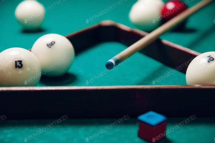 Billiard items