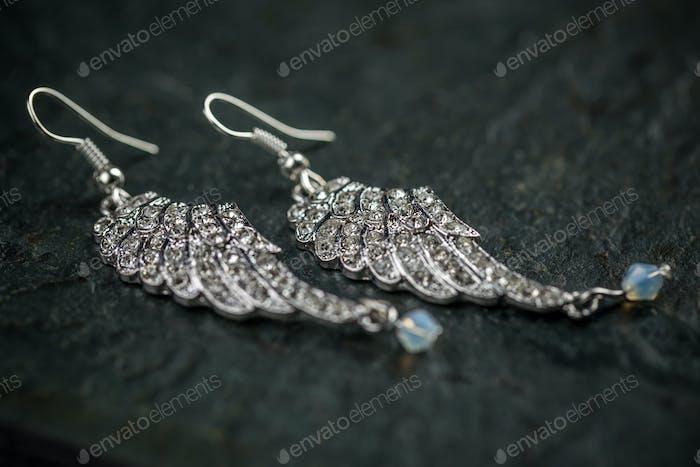 Bild eines Paares Ohrringe