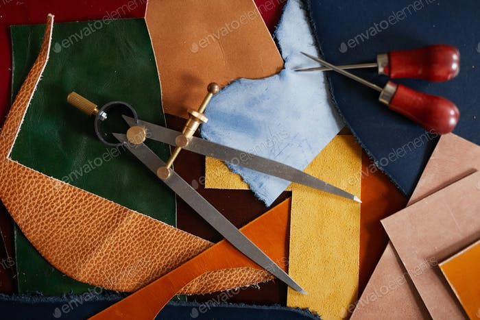Leatherwork Background