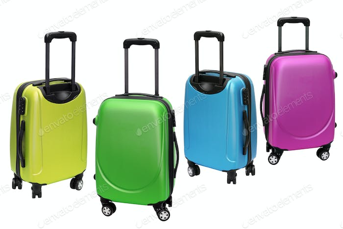 Colorful Travel Luggage