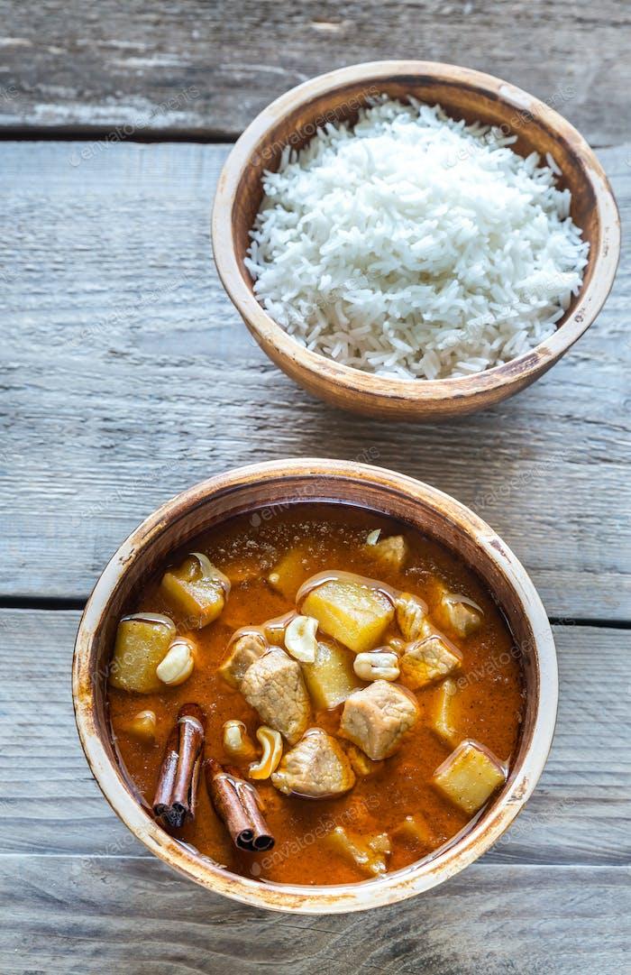 Thailändischer Massaman Curry