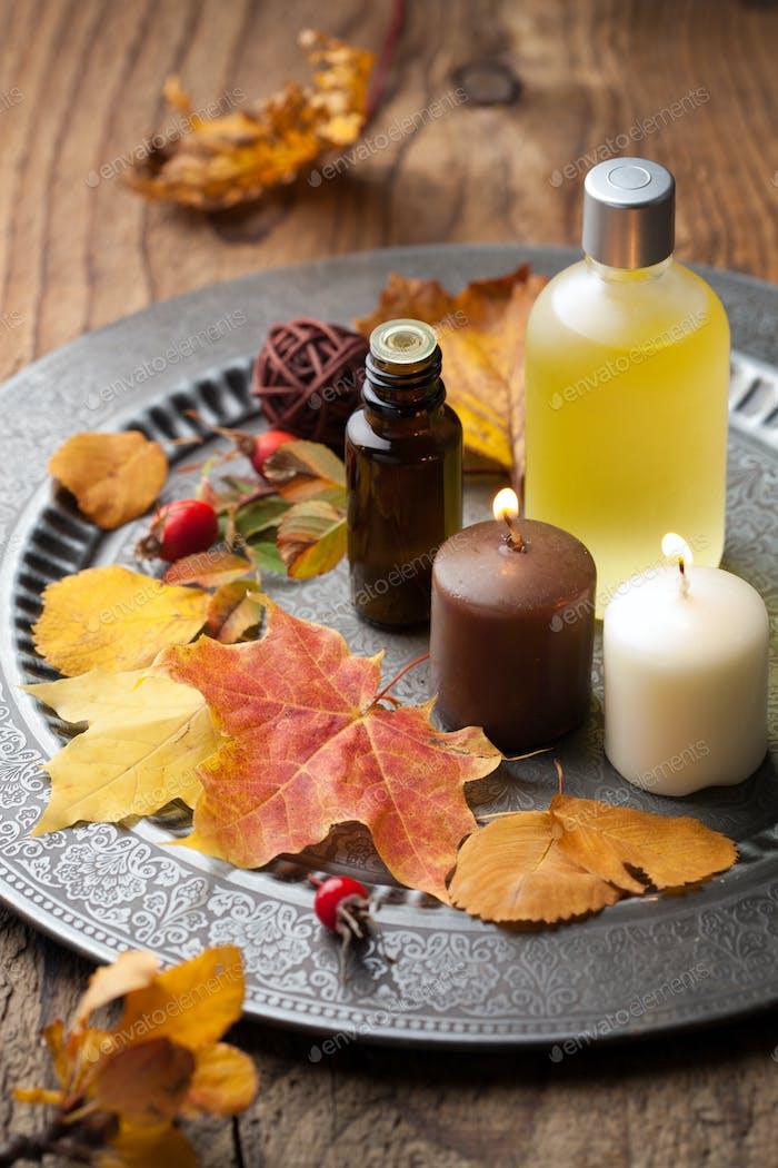 Herbst Spa und Aromatherapie