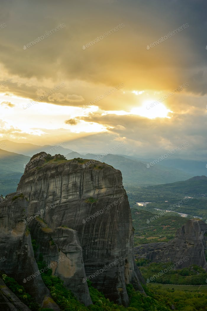 Meteora, Greece - Meteora Rocks landscape