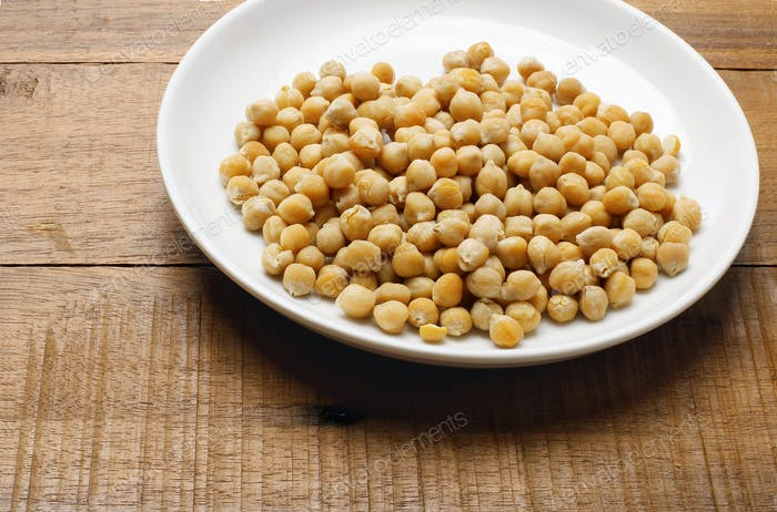 Plate of Chickpeas