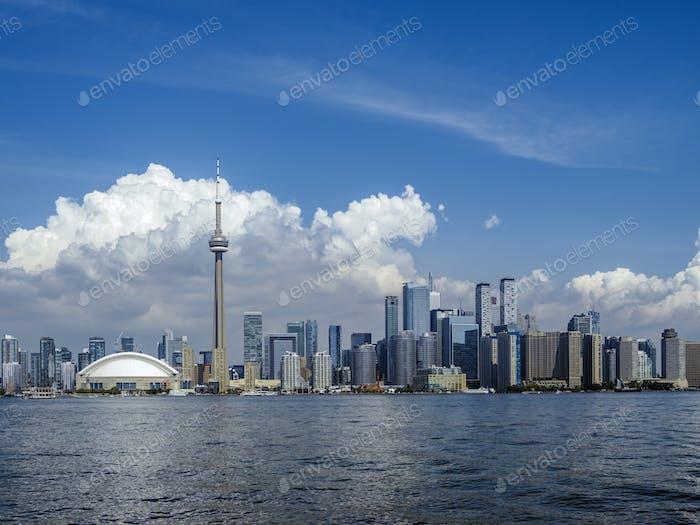 Toronto Ontario cityscape
