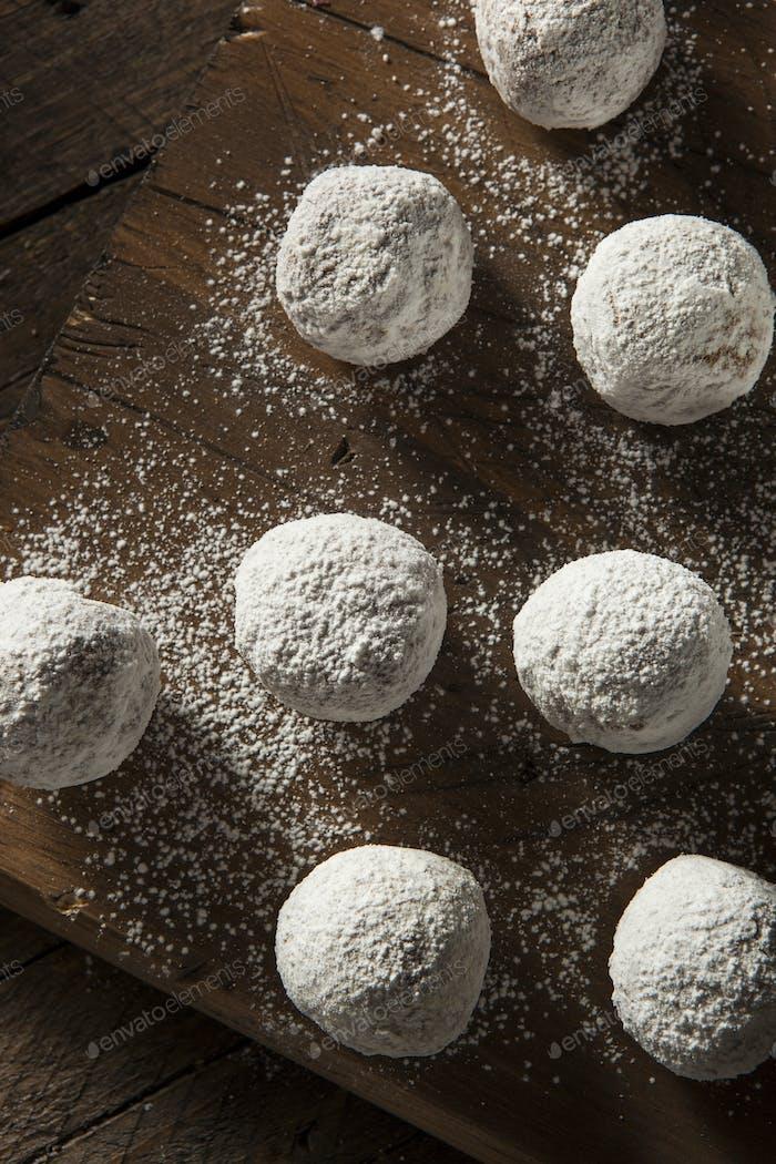 Hausgemachte Zucker Donut Löcher