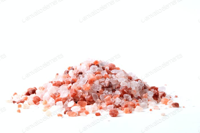 Salt Crystals Pile