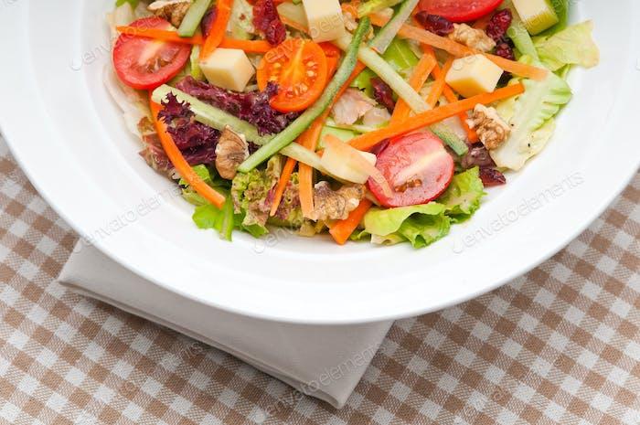Frischer bunter gesunder Salat