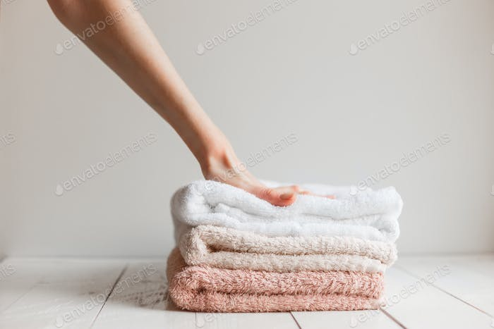Towels preserved softness after washing.