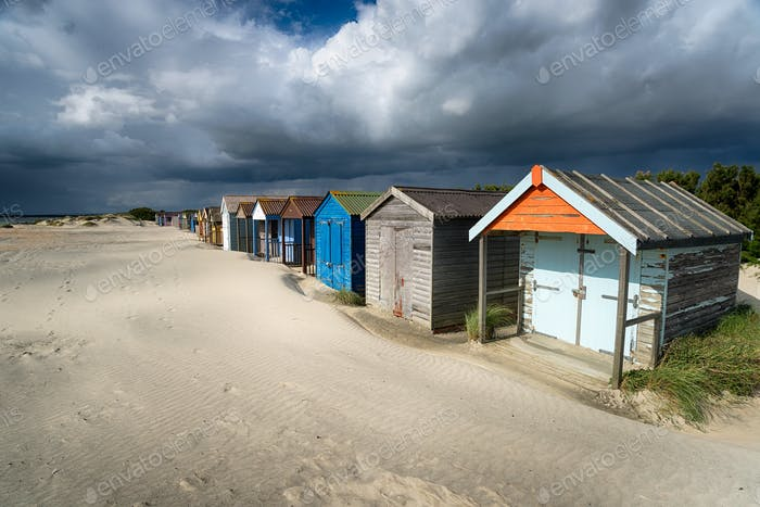 Strandhütten in Sussex