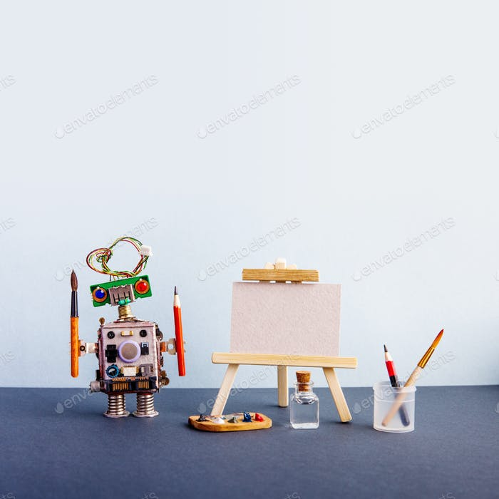 Roboter Künstler