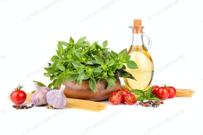 Ingredients for paste cooking