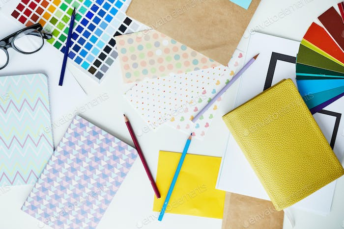 Pastel Office Supplies