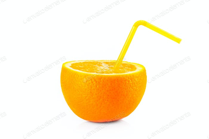 Reife orange