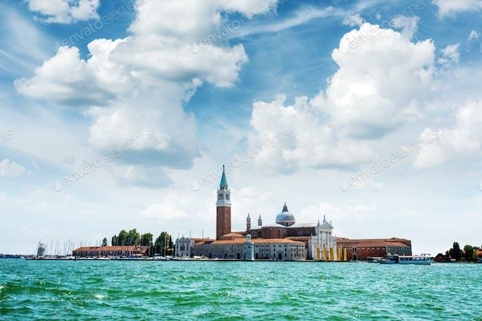 Venice, Italy. The island of San Giorgio Maggiore