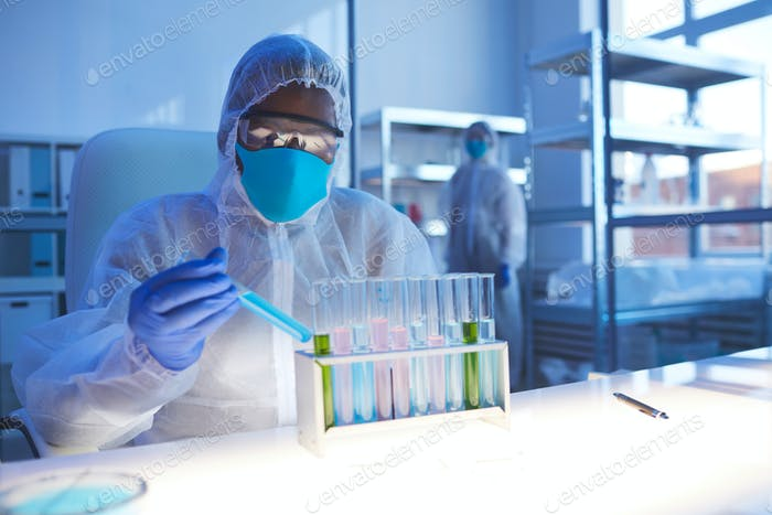 Working With Biological Hazard Liquids
