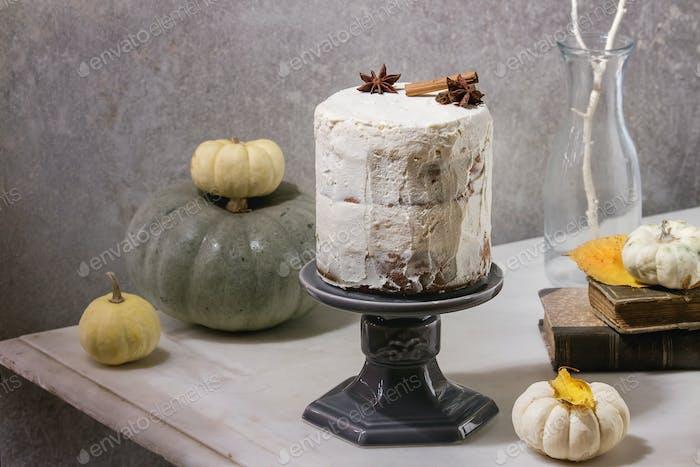 Herbst nackten Kuchen