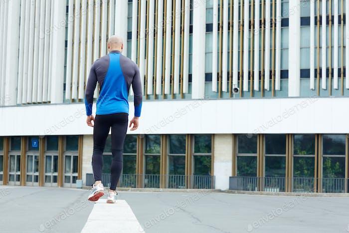 Walk of sportsman