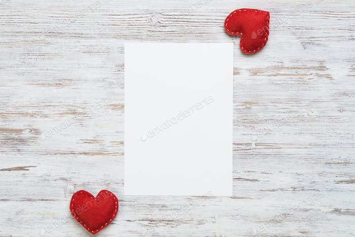 Love message or invitation
