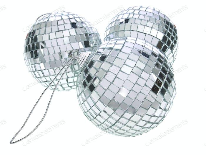 Disco Christmas balls
