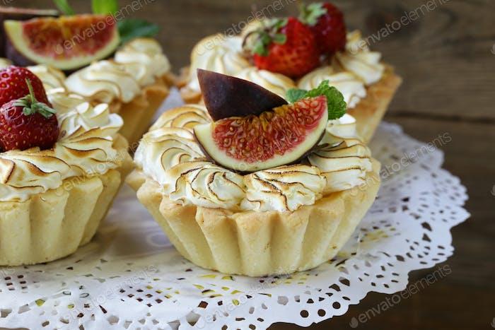 Dessert Tartlets From Shortcrust Pastry