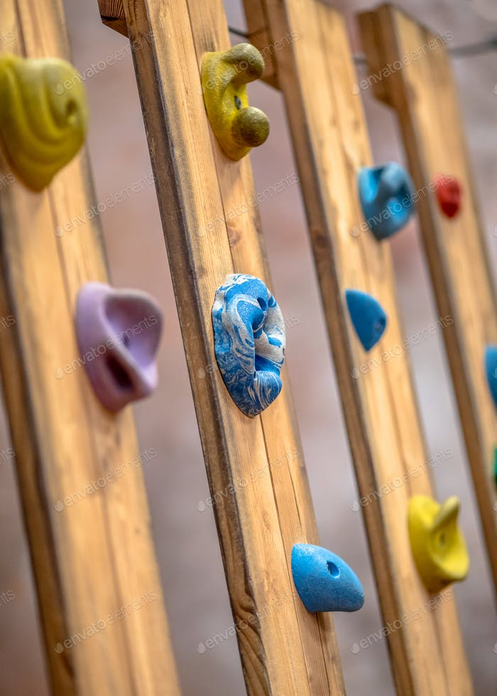 Climbing grips indoor