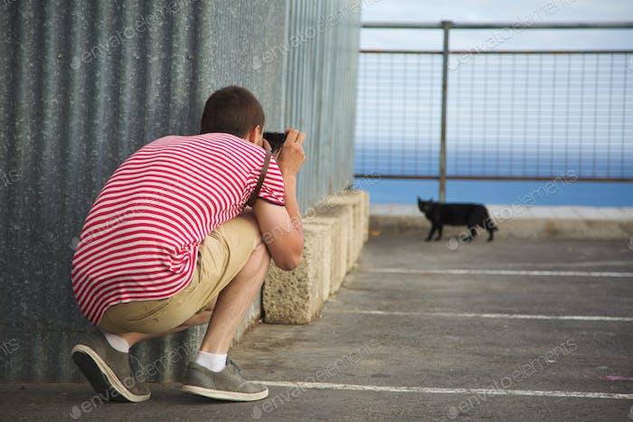 Reisender Fotograf
