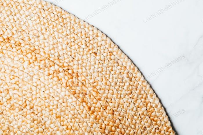 Jute rug, natural fiber carpet,