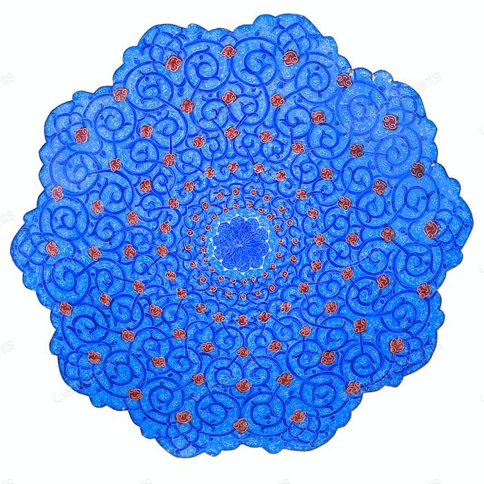 traditionelle iranische Platte