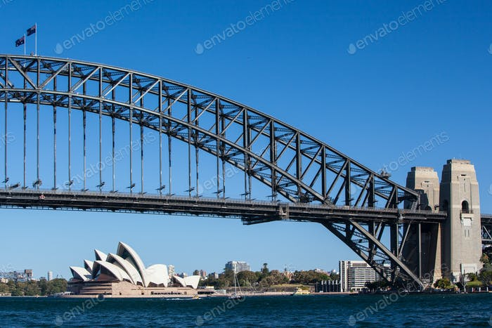 Sydney Harbour Bridge on a Clear Day