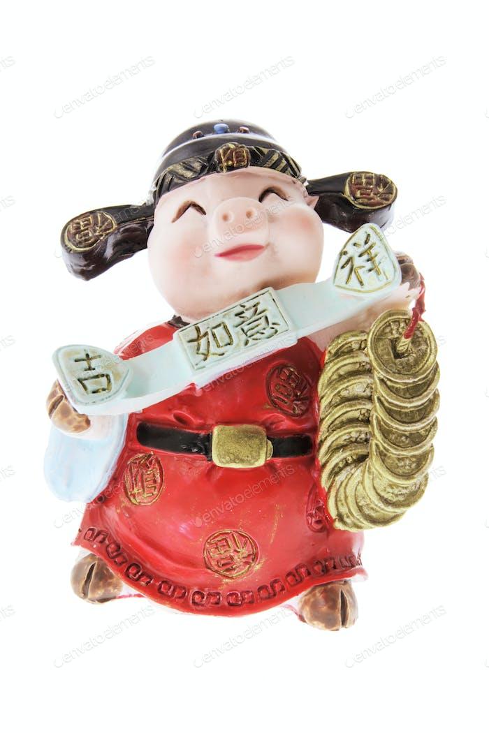 Miniature Pig Ornament