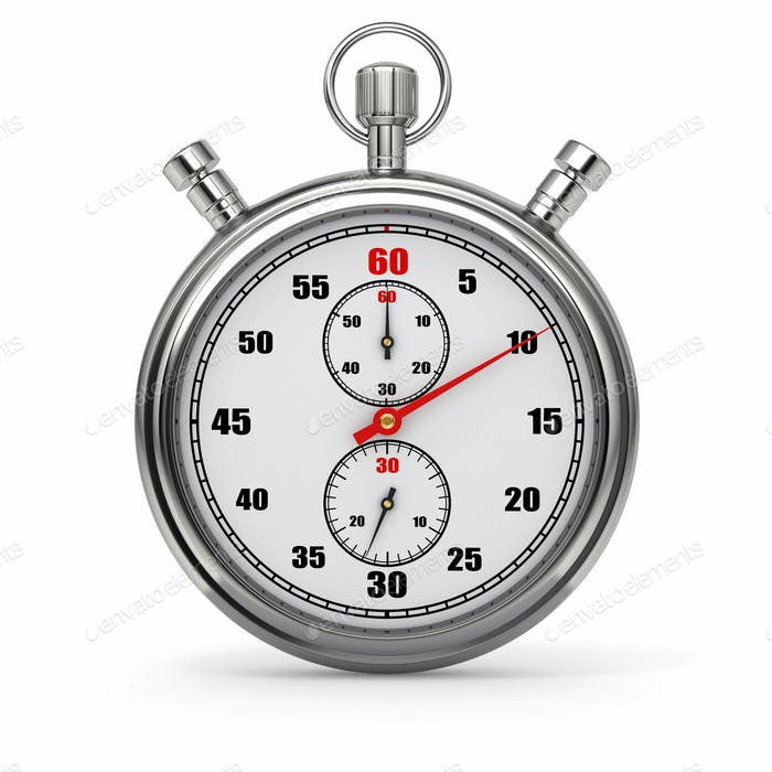 Stopwatch. 3d