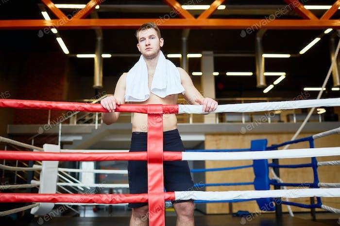 Young kick-boxer