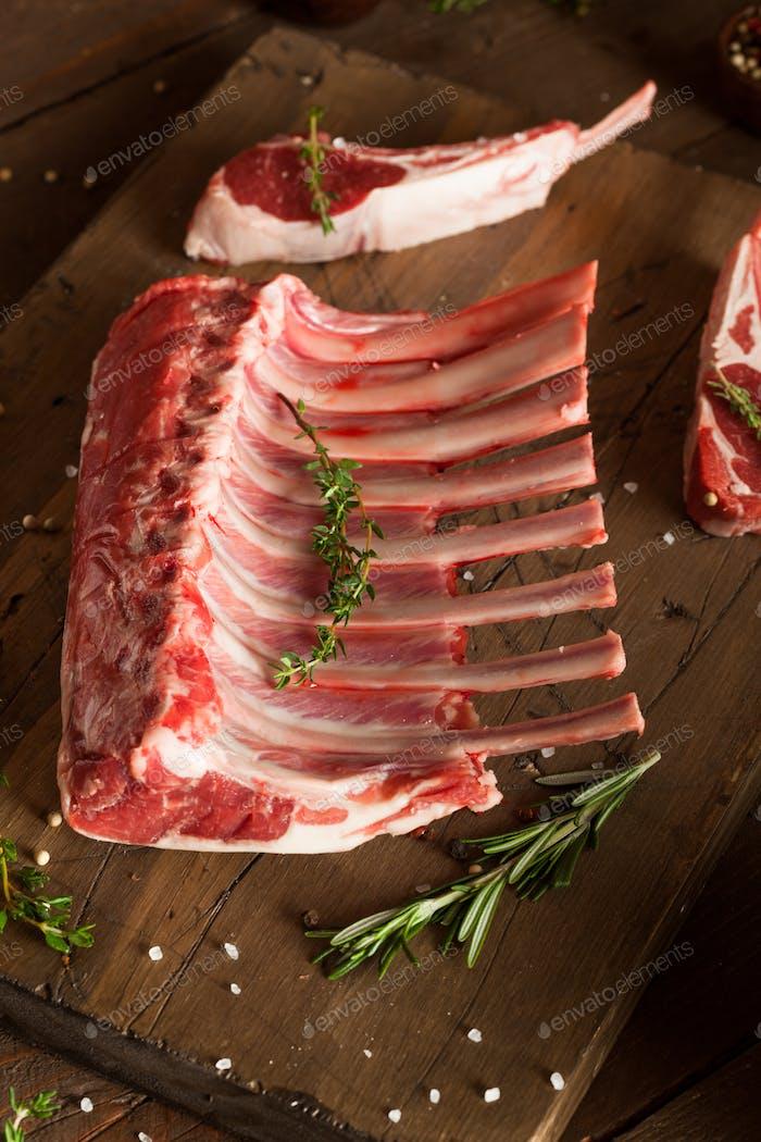Organic Raw Lamb Chops