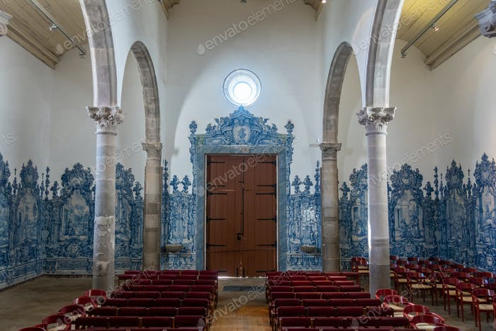 The Igreja da Misericordia in Tavira, baroque church architecture