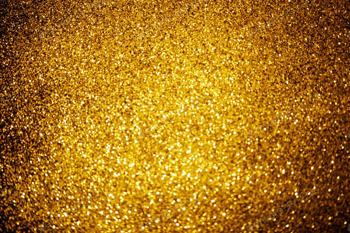 abstrakter Hintergrund mit glänzendem Goldglitter Dekor