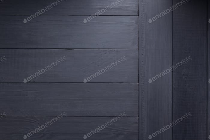 black wooden plank board background