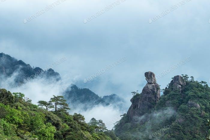 mount sanqing landscape